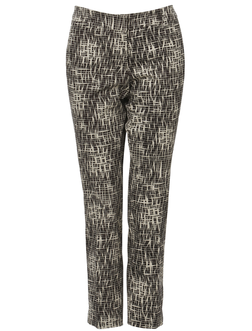 Brown Sugar Sateen Printed Pants