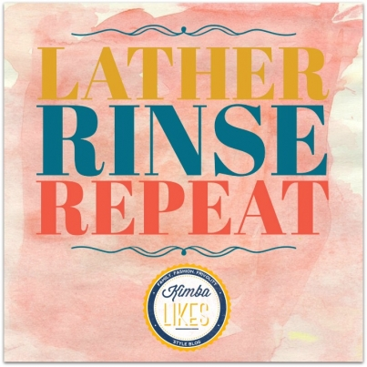 Lather Rinse Repeat | why I double cleanse