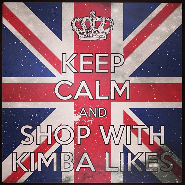 Keep Calm and Shop with Kimba Likes