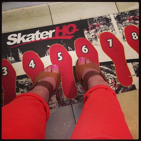 #shoein at Skater HQ