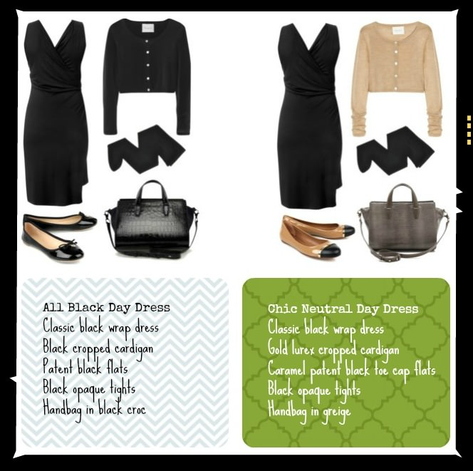 Black Day Dress Outfit