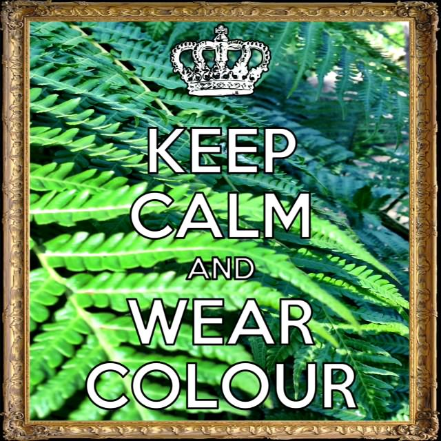 Keep Calm & Wear Colour 2