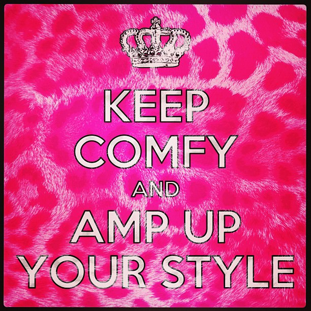 Keep Comfy and Amp Up Your Style