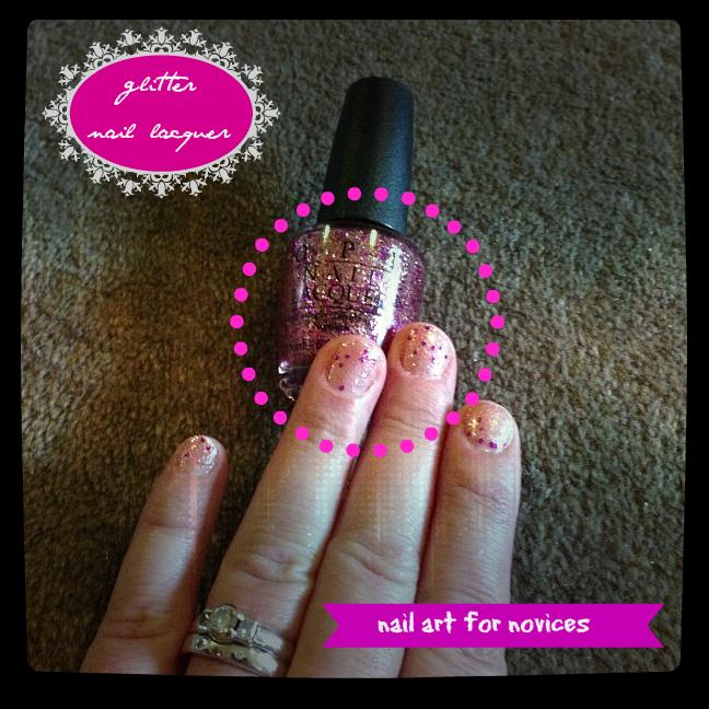 Nail Art for Novices - Glitter Nail Lacquer