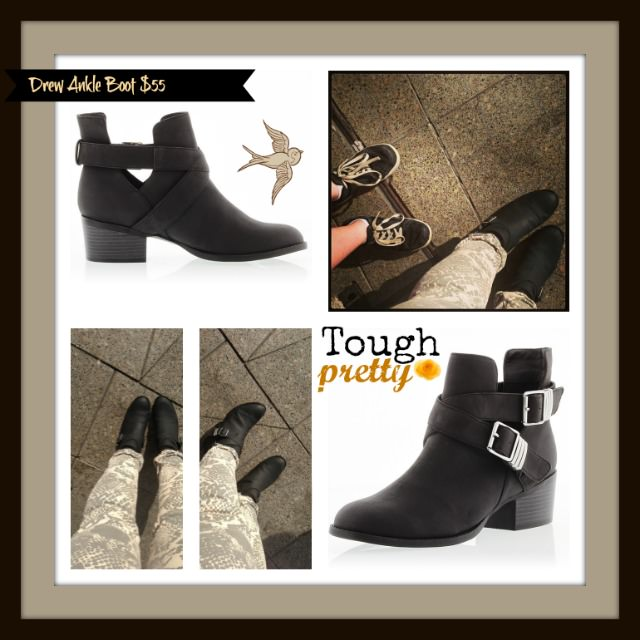 Drew Ankle Boot $55 | Faux Leather | Real Style