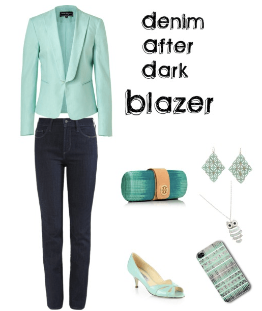 Denim After Dark - Blazer 1