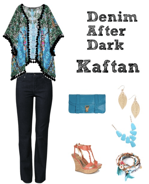 Denim After Dark - Kaftan