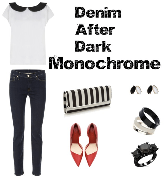 Denim After Dark - Monochrome
