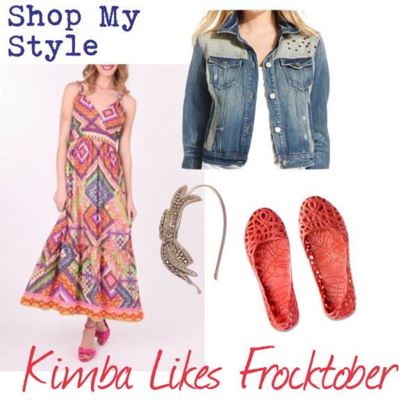 Kimba Likes Frocktober Day 5 | Shop My Style