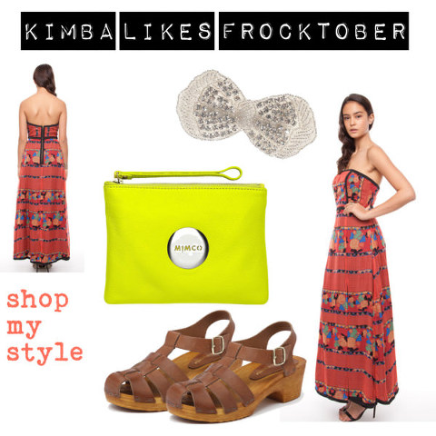 Kimba Likes Frocktober Day 6 | Shop My Style