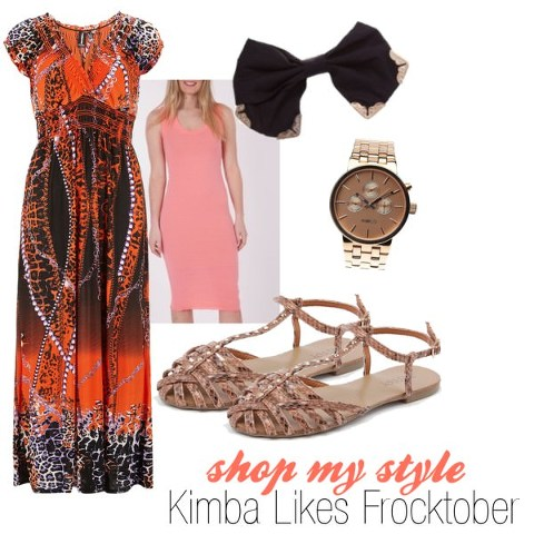Kimba Likes Frocktober Day 7 | Shop My Style
