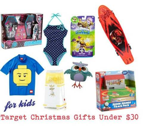 Target Christmas Gifts under $30 for kids