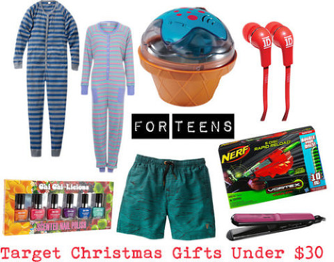 Target Christmas Gifts under $30 for teens