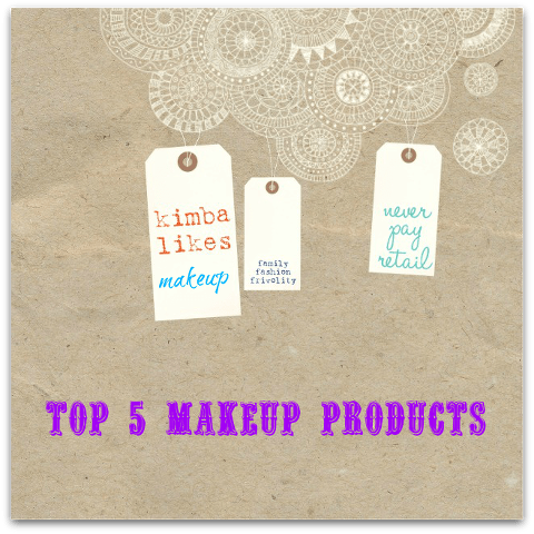 Top 5 Makeup Products