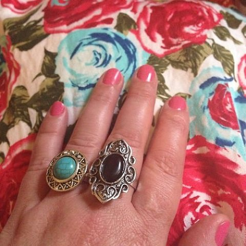 Bohemian Traders gorgeous rings | ring a ring a rosie