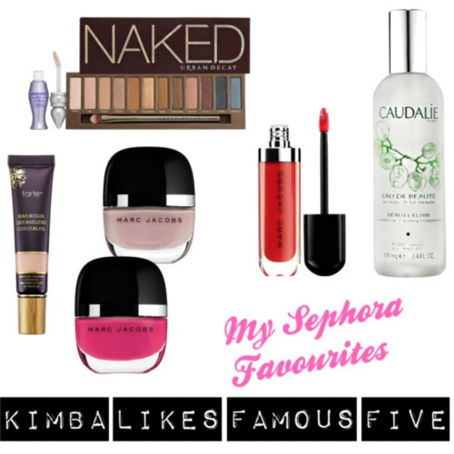 My Sephora Favourites