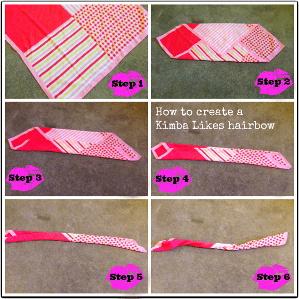 How to create a kimba likes hairbow