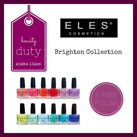 Beauty Duty ELES Brighton Nail Collection