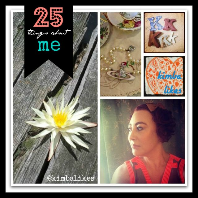 25 things about me