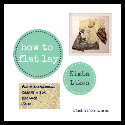 how to flat lay