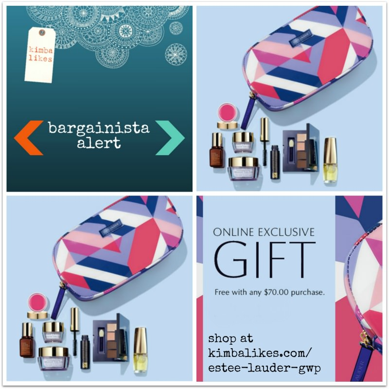 Estee Lauder Gift with Purchase | Bargainista Alert