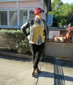 Winter Luxe Style Challenge Leather Jacket