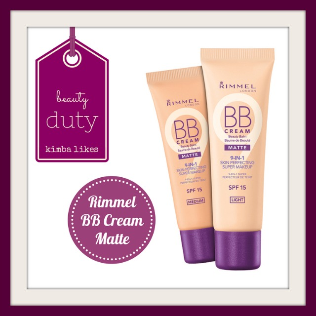 Beauty Duty | Rimmel BB Cream Matte | Gwen Stefani for OPI
