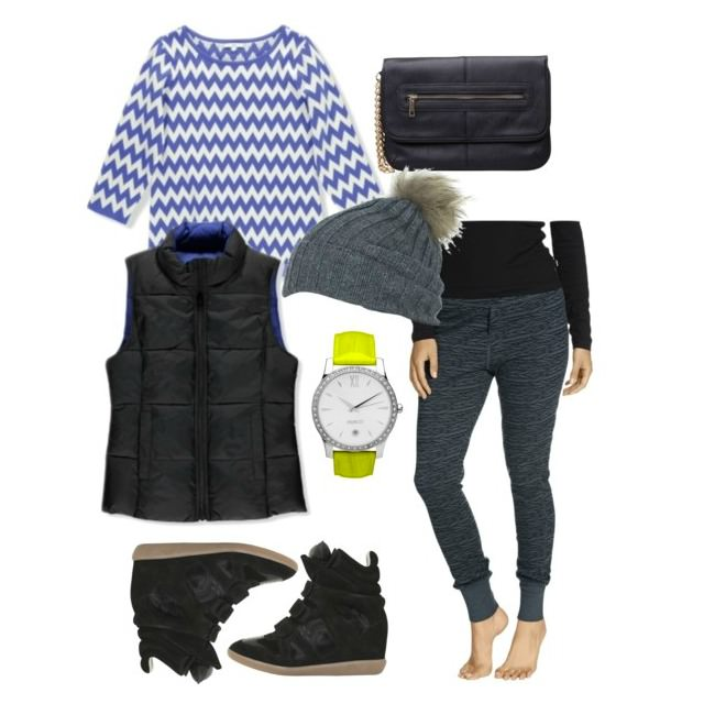 Style it Project How to wear a puffer vest