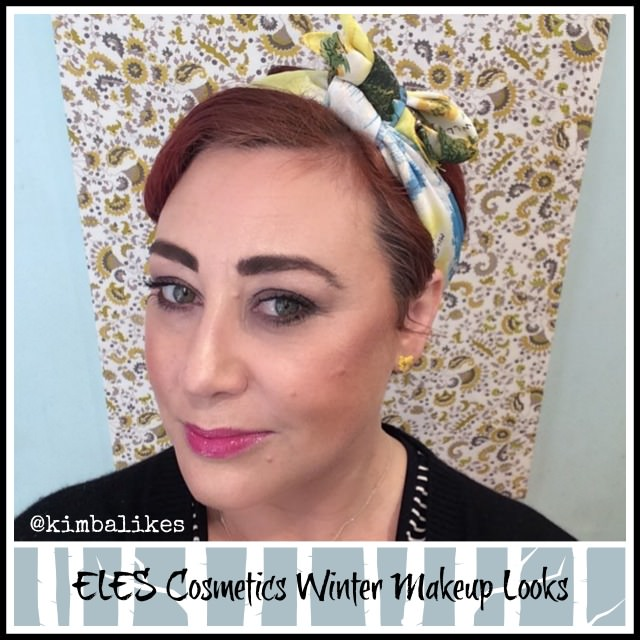 ELES Cosmetics The Big Smoke Winter Makeup Looks