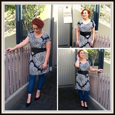 Kimba Likes Katies Printed Dress | styled three ways