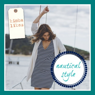 Kimba Likes Nautical Style | Currently Crushing On