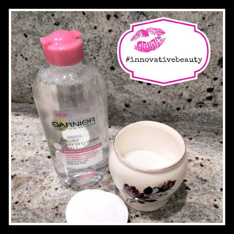 Kimba Likes Garnier Micellar Cleansing Water #innovativebeauty