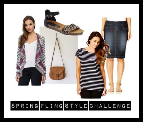 spring fling style challenge casual chic
