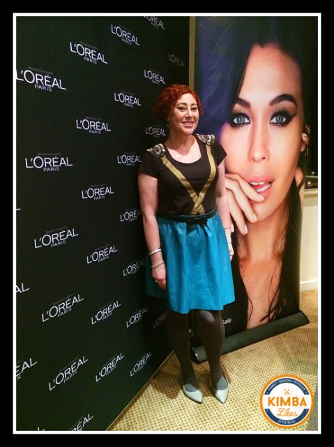 Kimba Likes What I Wore to PB Event | Each to Own earrings, Sass & Bide top, Portmans skirt, Alannah Hill bow belt, Leona Edmiston tights, Country Road flats, Mimco and Tiffany jewellery