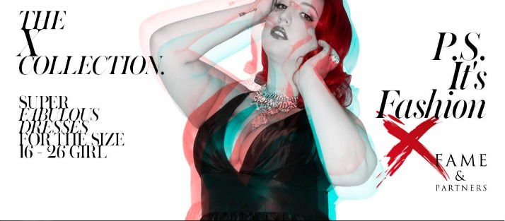 X Collection by Fame & Partners with Liz Black featuring an interview with Liz Black, uber NYC plus size blogger at PS It