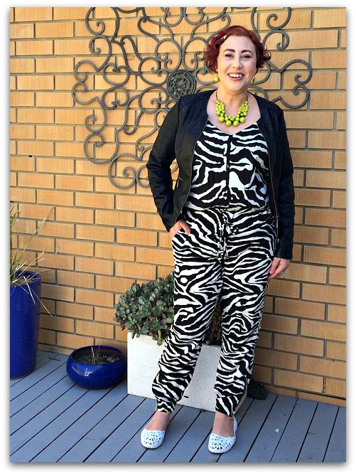 Style it Project September | Peter Morrissey Zebra Print Cami