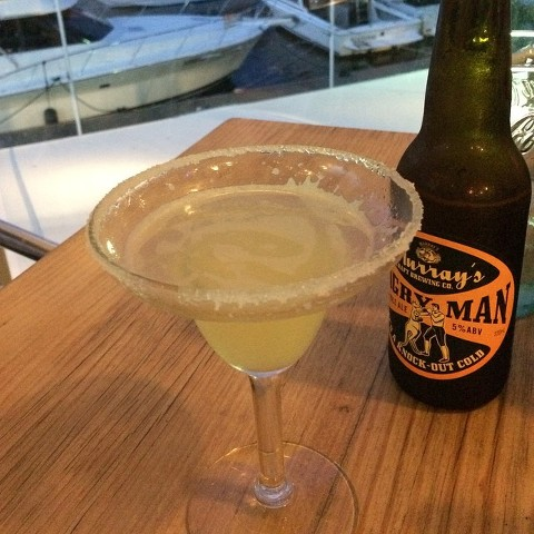What to do in Nelson Bay and Port Stephens - dinner at the d'Albora Marina Nelson Bay