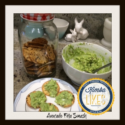 Kimba Likes Avocado Feta Smash