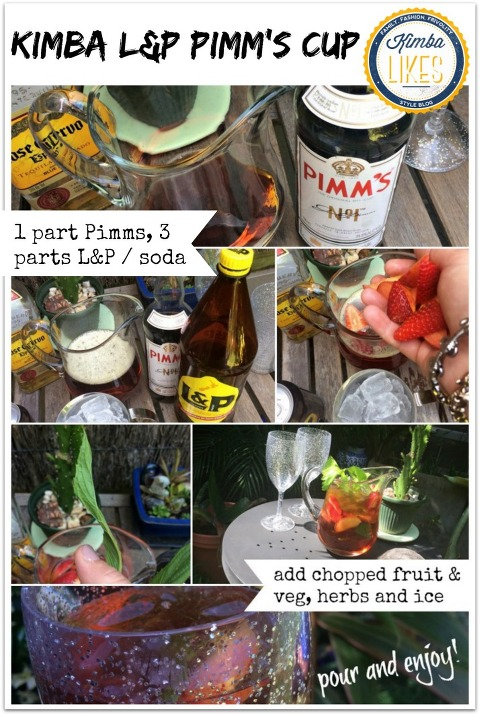 Kimba Likes L&P Cocktails for Summer | Kimba L&P Pimm's Cup