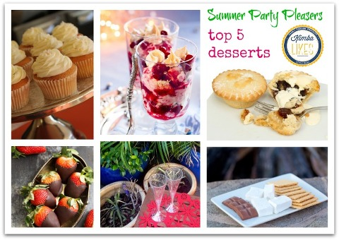 Top 5 Party Pleasers - finger foods, desserts and wardrobe essentials from Katies Fashion @kimbalikes