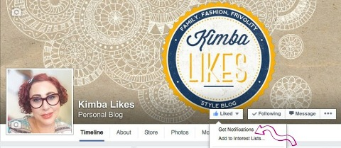 Kimba Likes Facebooks   don't miss out on the fun!