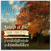 #AutumnStyle Style Project with Redcliffe Style and Kimba Likes
