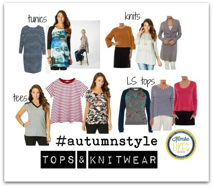 Kimba Likes Autumn Style #autumnstyle My picks of the new season tops and knitwear