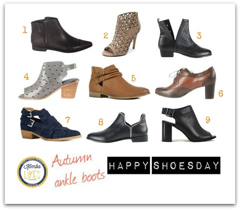 Kimba Likes Shoesday | Autumn Ankle boots