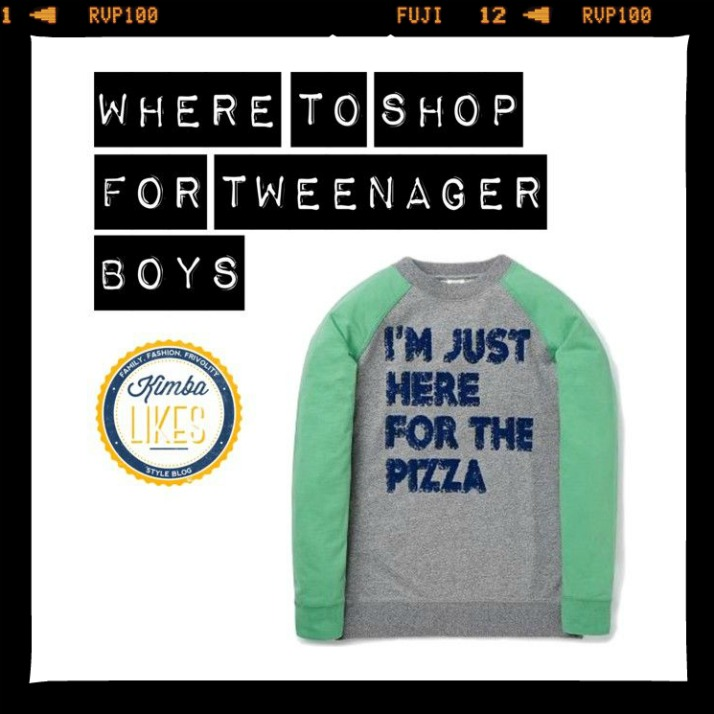 Where to shop for tweenager boys @kimbalikes #kimbalikes kimbalikes.com