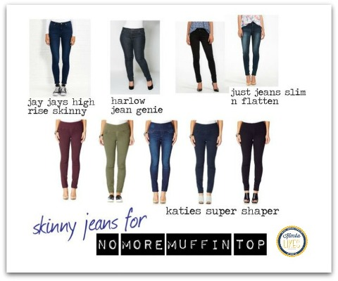 1f0dd100dab Kimba Likes No Muffin Top Skinny Jeans featuring Katies