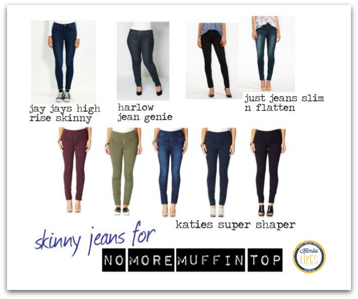 Kimba Likes No Muffin Top Skinny Jeans featuring Katies, Jay Jays, Just Jeans and Harlow @kimbalikes #kimbalikes