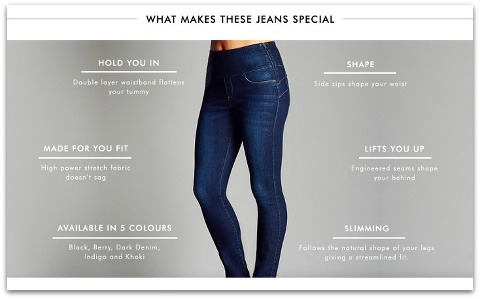 0272e866c27 Kimba Likes No Muffin Top Skinny Jeans. Loving the new Katies Super  Shapers.