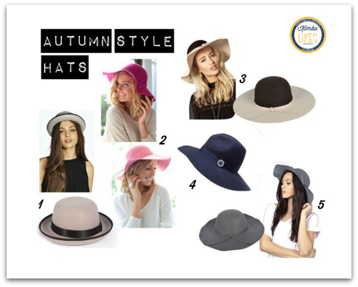 Kimba Likes Currently Crushing On Autumn Style Felt Hats @kimbalikes #kimbalikes kimbalikes.com