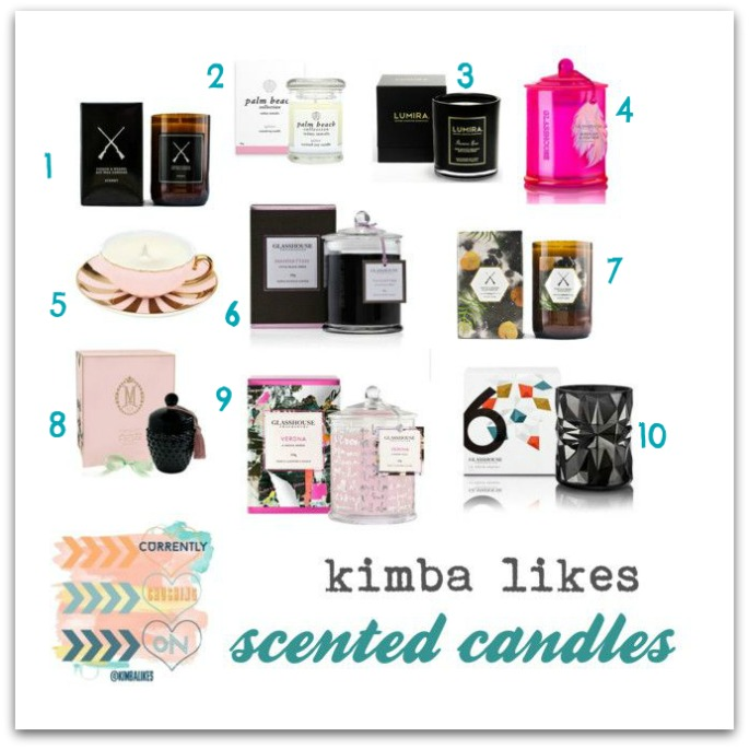Currently Crushing On | Kimba LIkes scented candles